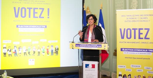 Myriam El Khomri ©Ministère du Travail/DICOM/Marie Genel/Picturetank