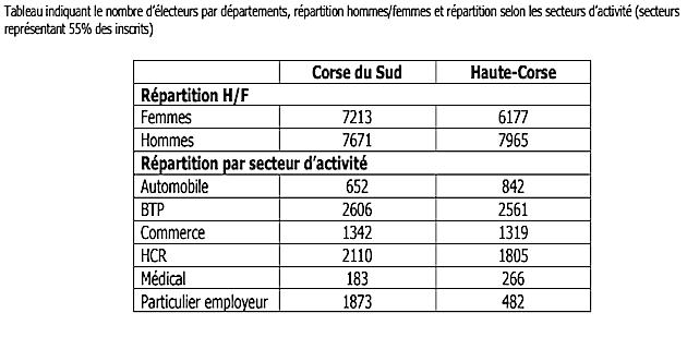 L'élection syndicale dans les TPE démarre : 29 027 salariés inscrits en Corse