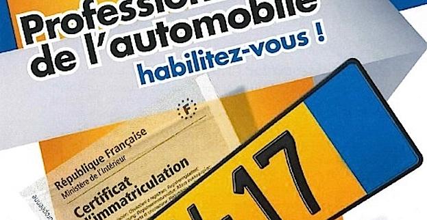 Professionnels de l'auto : Habilitez-vous pour une connexion au Système d'immatriculation des véhicules