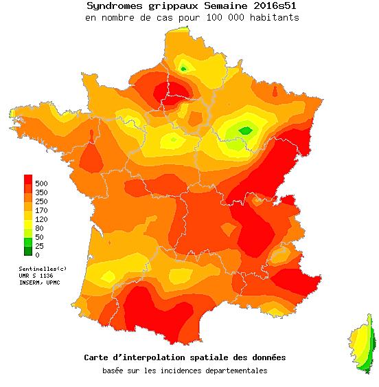 Grippe : La Corse épargnée pour l'instant