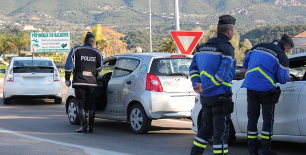 Opérations de Sécurité routière en Corse-du-Sud pour la fin de l'année