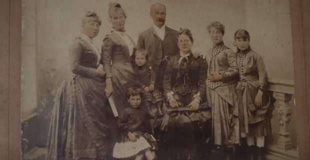 La famille de Giovanni Battista Marcantoni.