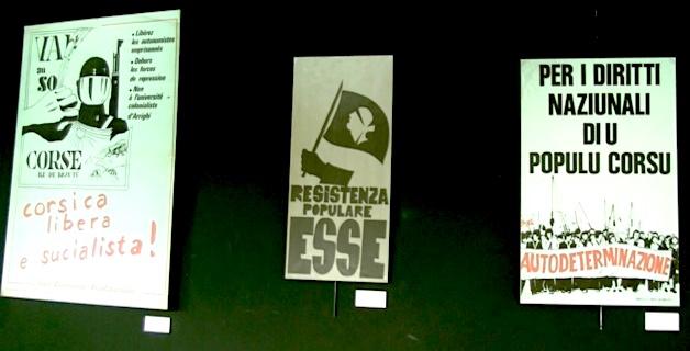 Bastia : Une étonnante expo d'affiches politiques à l'Alb'Oru