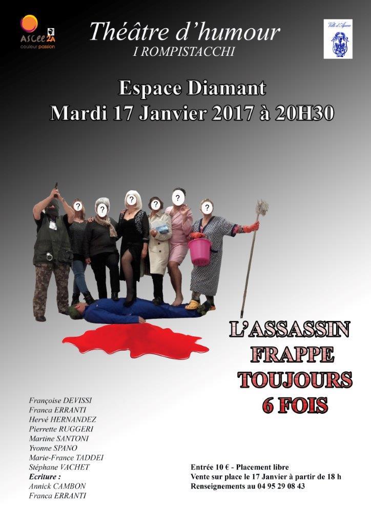 """Ajaccio :  """"I Rompistacchi"""" sur la scène de l'Espace Diamant"""