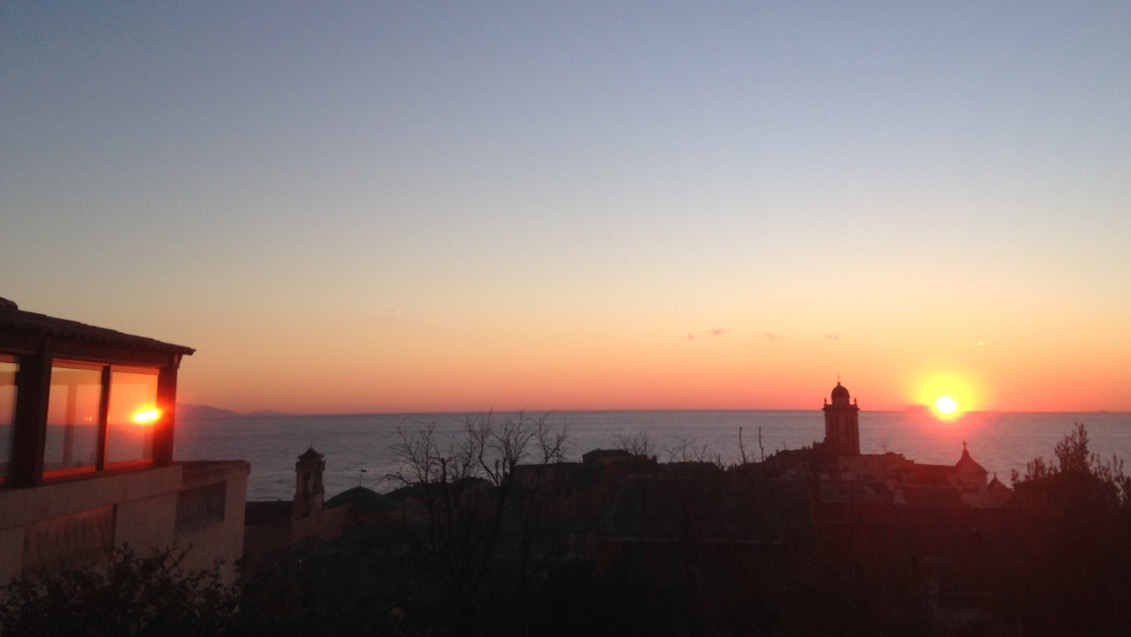 Bastia : Double… lever de soleil !