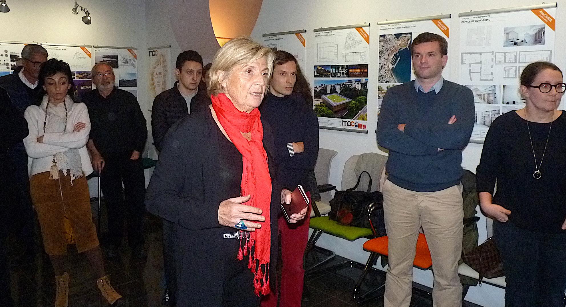 1 re dition du palmar s des jeunes architectes de corse for Jeune architecte