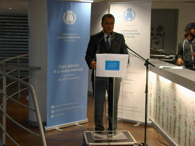 Communauté d'Agglomération de Bastia : Les vœux du président au personnel