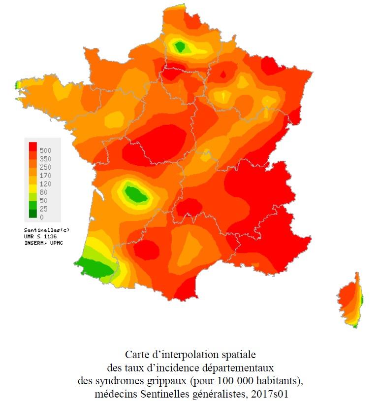 Grippe : De plus en plus de cas en Corse