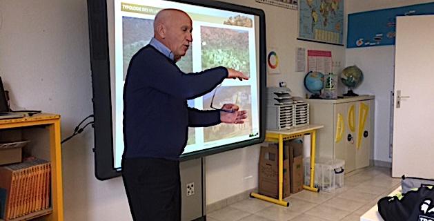 Sensibiliser les élèves des écoles de Balagne au patrimoine bâti