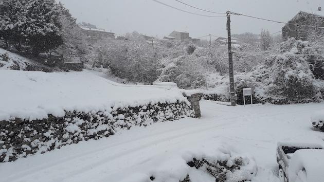 Neige : La Corse repasse en vigilance jaune mais…  2 600 foyers sans électricité