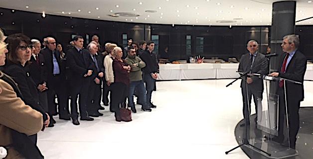 Les vœux en commun d'Alain Thirion et François Orlandi pour la Haute-Corse