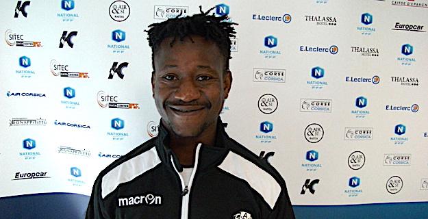 Cheikh Doumbia, nouvelle recrue du CA Bastia