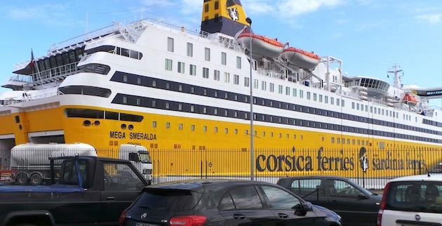 Le Mega Smeralda ne sera pas à quai à Bastia avant ce jeudi matin