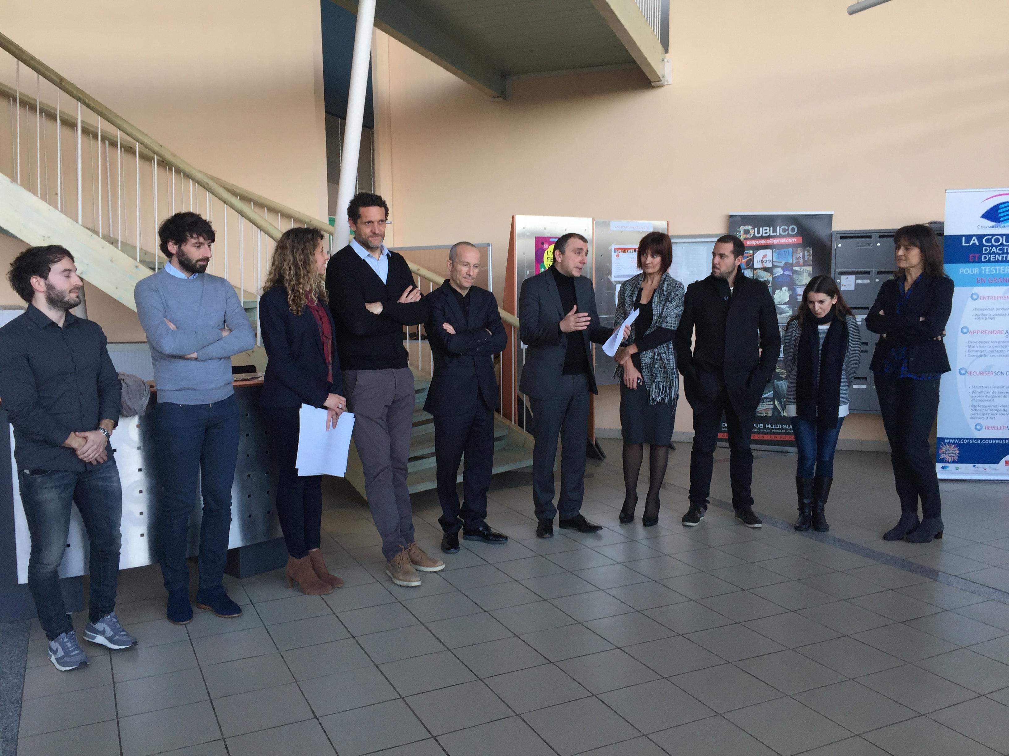 """Jean-Christophe Angelini : """" Nous sommes là pour récompenser des parcours professionnels exemplaires """""""
