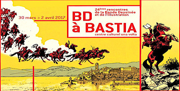 BD à Bastia : La 24e édition du 30 mars au 2 avril