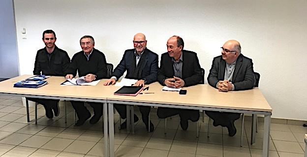 La convention CCI 2B/ COMCOM vient dêtre signée