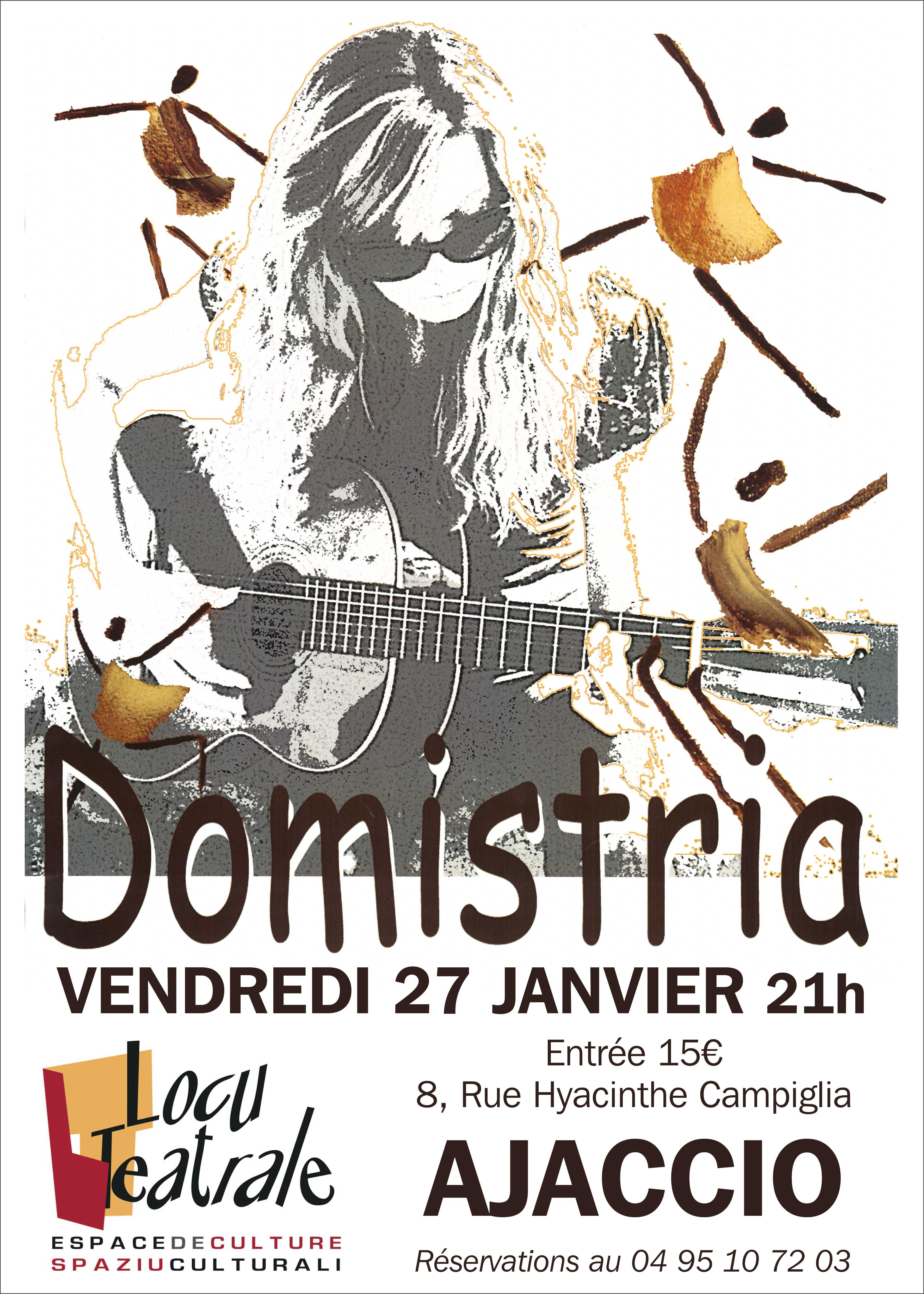 Doministria en concert  à Locu Teatrale