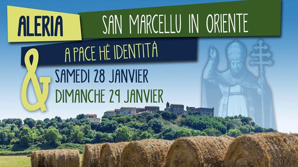 """San Marcellu in Aleria : """"A pace hè identita"""""""