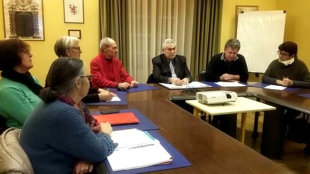 Présentation à Corbara de l'agenda culturel et événementiel