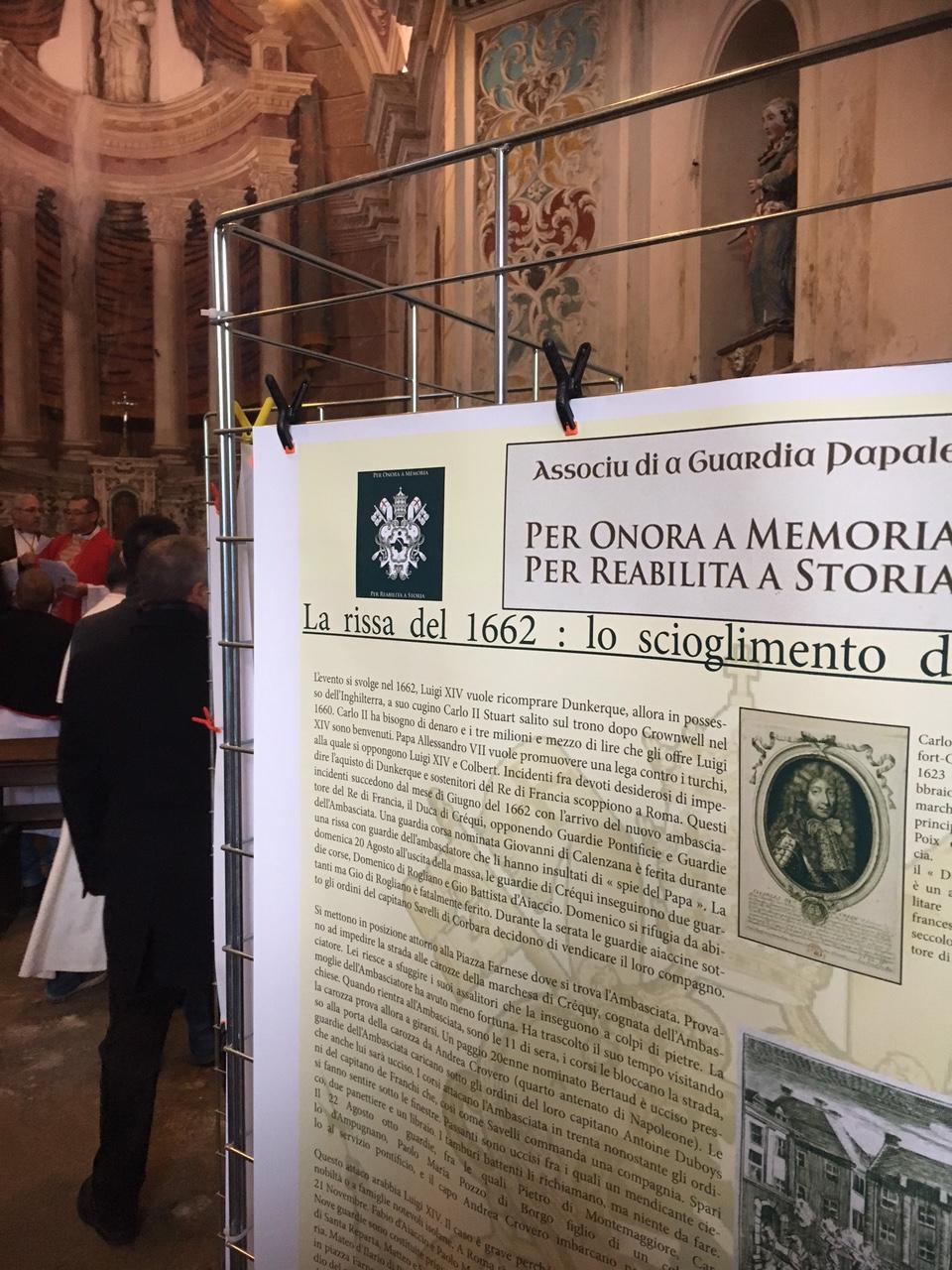 La chapelle Santa Divota, lieu d'accueil et de rencontre pour l'associu Guarda Corsa Papale.