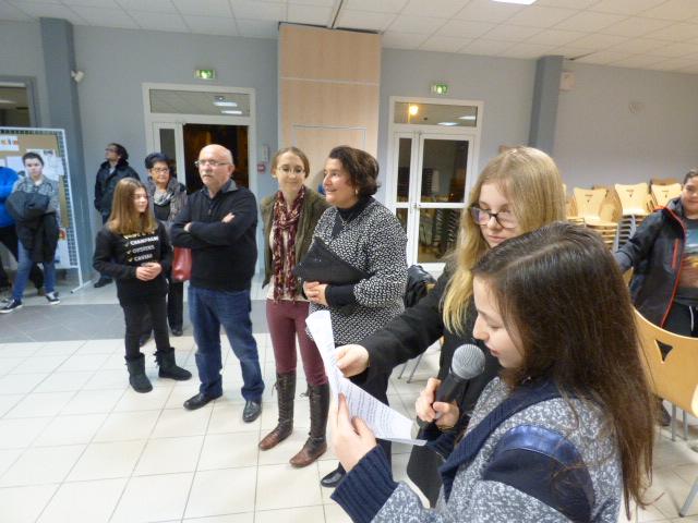 Une exposition accueillie en salle des fêtes par la municipalité de Ghisonaccia.