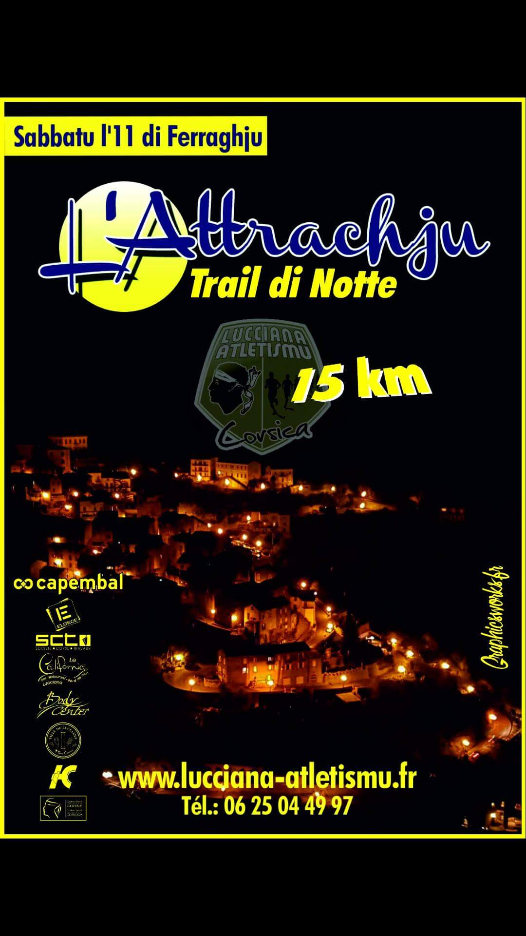 "Lucciana prépare le trail nocturne de ""L'attrachju"""