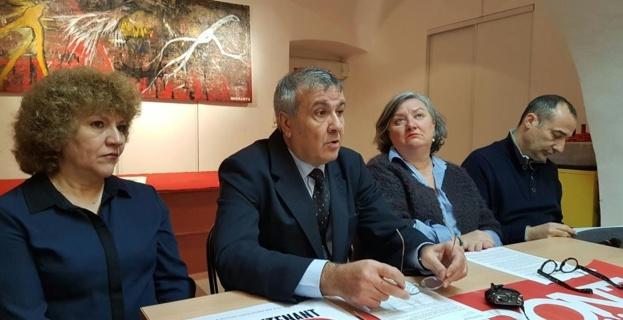 Toussainte Devoti, Michel Stefani, Marie-JEanne Fedi et Charles Casabianca