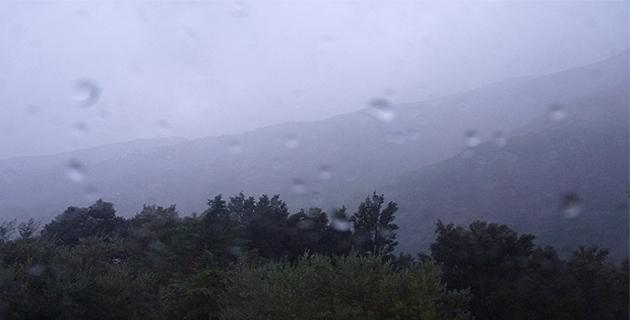 """Météo :  La Corse en vigilance jaune """"Vent violent, pluie-inondation, orages et avalanche"""""""