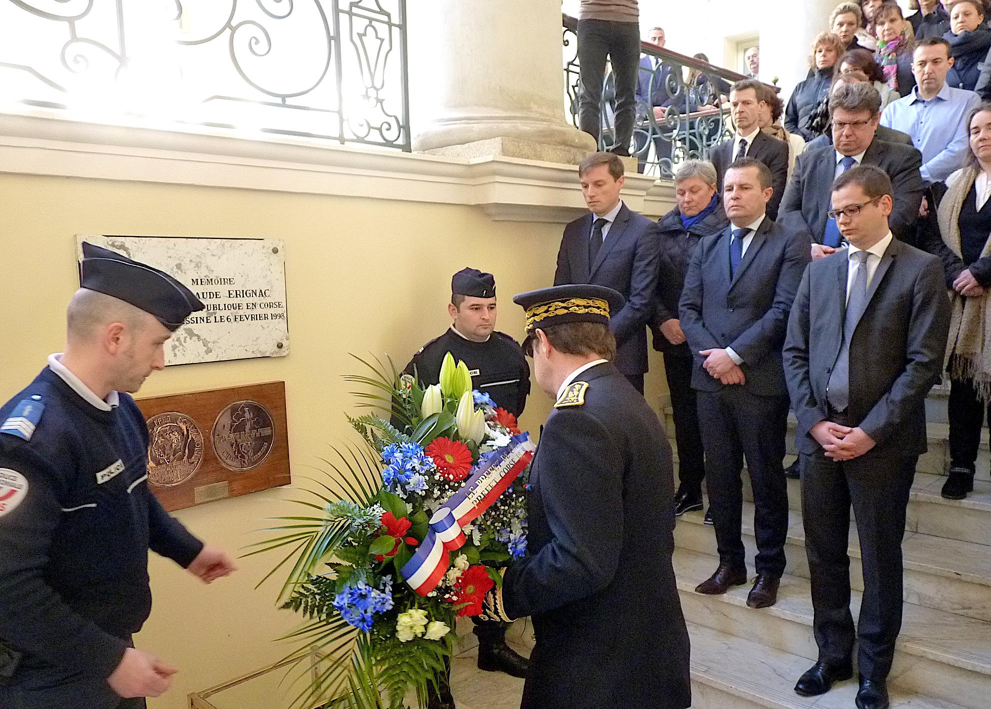 L'hommage au préfet Claude Erignac : 19 ans après…