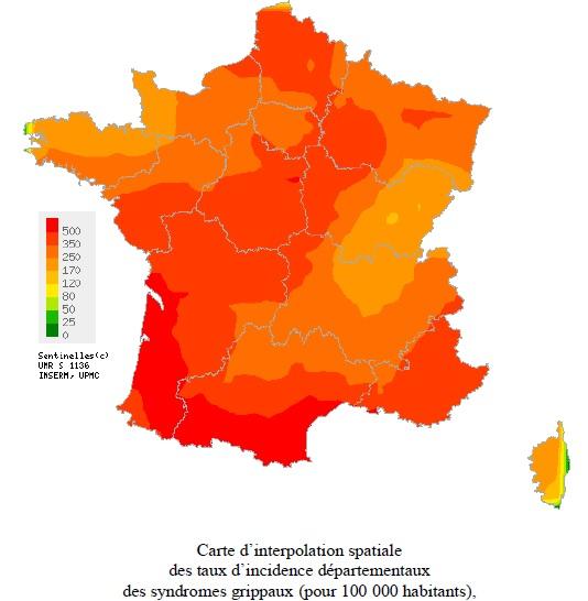 Grippe : Le recul de l'activité en Corse  se confirme