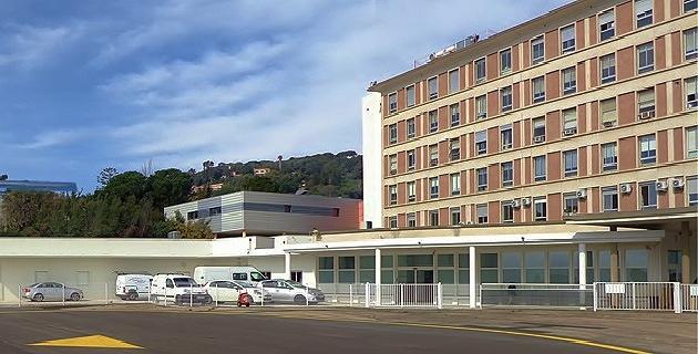 L'hôpital d'Ajaccio
