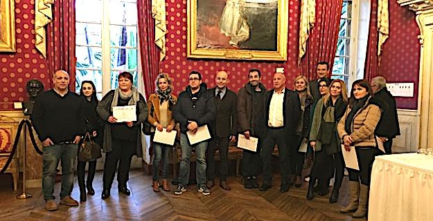 Ajaccio: Remise du «certificatu di lingua corsa» aux agents de la mairie et de la CAPA
