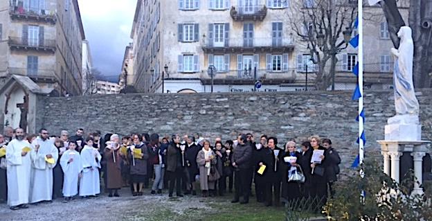 Bastia : Notre Dame de Lourdes célèbre sa fête