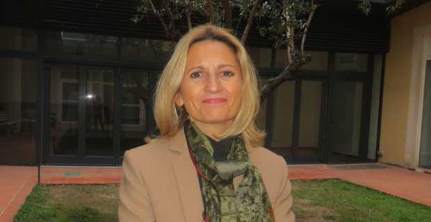Marie-Antoinette Maupertuis, conseillère exécutive en charge des affaires européennes, et présidente de l'Agence de tourisme de la Corse (ATC).