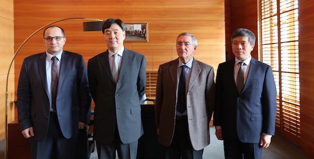 Bastia : L'ambassadeur de Chine en France reçu à la CCI de Haute-Corse