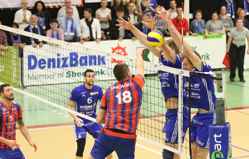 Coupe d'Europe de Volley : Le GFCA s'invite en quarts de finale
