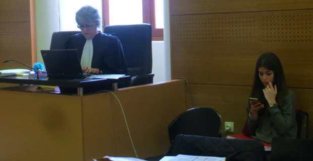 La procureure adjointe Frédérique Olivaux-Rigoutat.