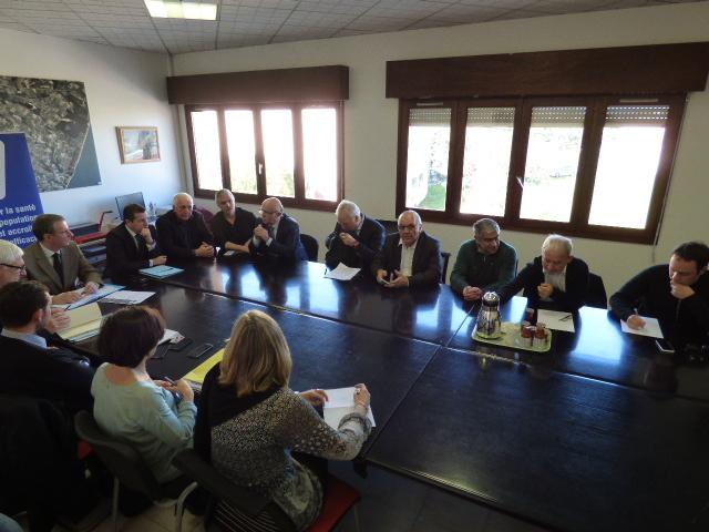 La réunion ARS Comité Per A Salute in piaghja Urientale va démarrer....