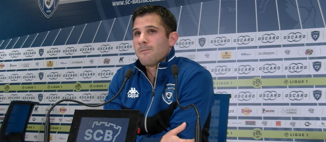 Gilles Cioni, défenseur SC Bastia
