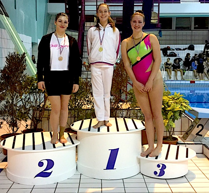 "Bastia : Les nageuses du Fun ""Béluga"" se distinguent à Nice"