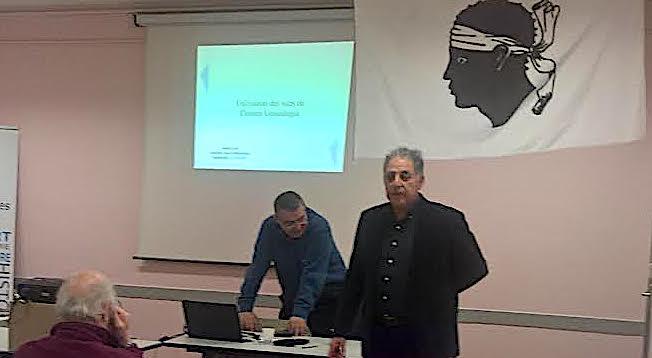 """""""Ghjurnate Genealugia in Corsica """"  à  Montpellier"""