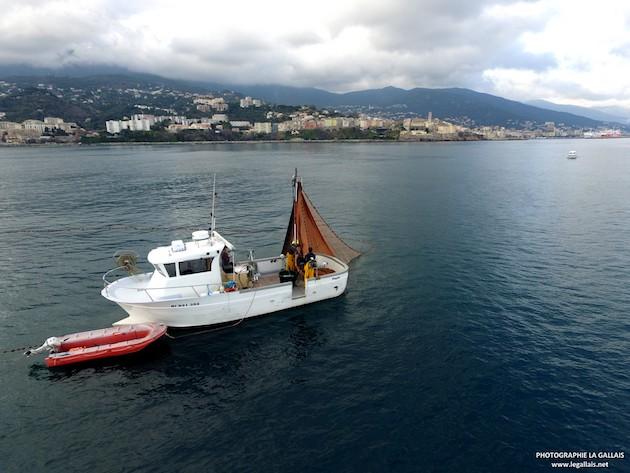 La pêche à la senne devant Bastia