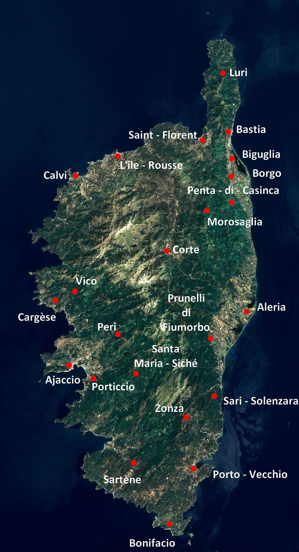 Corse-du-Sud et Haute-Corse : Modification des modalités de délivrance des cartes d'identité