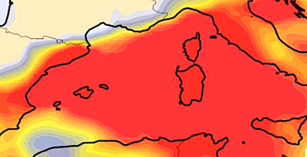Un épisode de pollution atmosphérique attendu sur la Corse