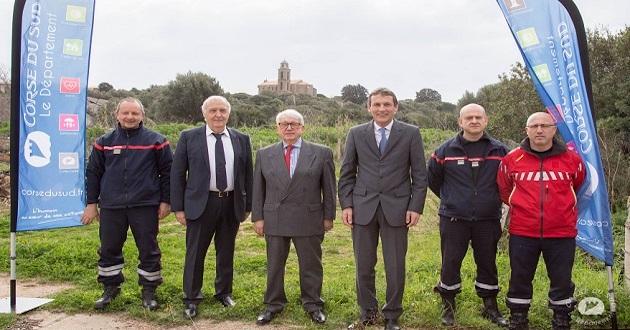 """Centre de secours de Pianottoli-Caldarello : La """"caserne"""" sur les rails"""
