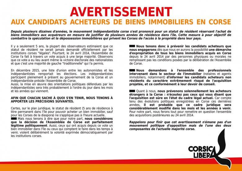 CTC : Statut de résident et nouvelle polémique