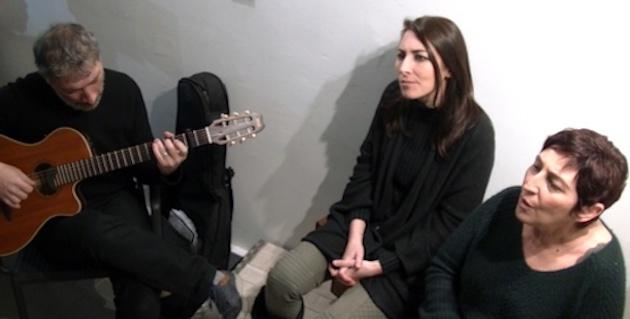 Anna Rocchi, Doria Ousset et le guitariste Bernard Ferrari