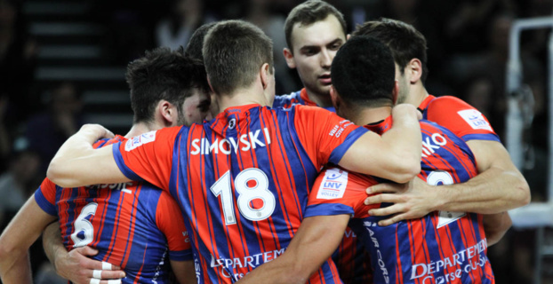 Volley Ball : La victoire (3-2) pour le GFCA à Sète