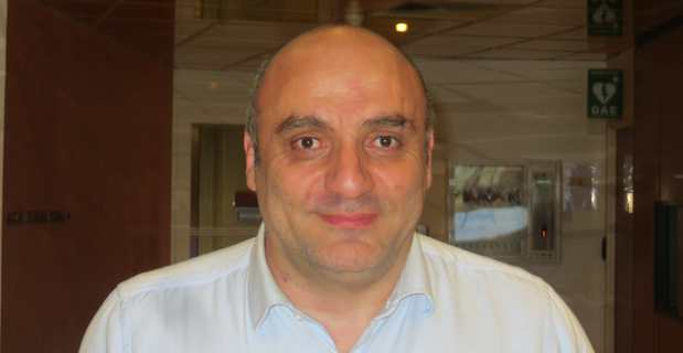 Paul-Jo Caïtucoli, maire nationaliste d'Arghjusta e Muricciu et conseiller communautaire du Taravo en Corse du Sud.