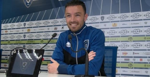 Gaël Danic, attaquant SC Bastia
